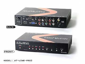 AT-LINE-PRO2-b Video Scaler with HDMI output by Atlona