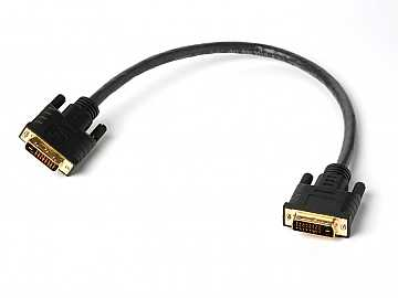 1ft (0.3m) Plenum DVI Dual Link Male/Male Cable by Atlona
