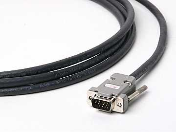 ATP-18009L-30 100ft Plenum VGA (HD15) Male/Male Cable (up to QXGA 2048x1536) by Atlona