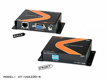 Passive VGA Extender(Receiver) up to 330ft over 1 x CAT5/6/7 Cable by Atlona