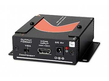 AT-HD420 HDMI to VGA/Component   Stereo Audio Format Converter by Atlona