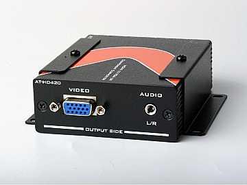 AT-HD420-b HDMI to VGA/Component   Stereo Audio Format Converter by Atlona