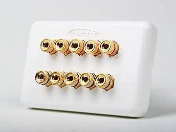 AT80100 HIGH-QUALITY WALL PLATE FOR 5 SPEAKERS by Atlona