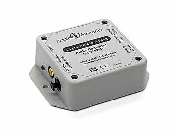 979R Digital to Analog Audio Converter by Audio Authority