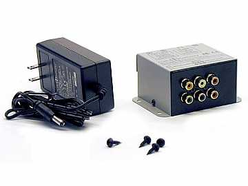 9880T 1x1 Dual Cat5 Component AV Extender(Transmitter) by Audio Authority