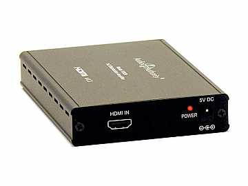 1392A 1x2 HDMI 1.3 Distribution Amp/Splitter (HDTV/LPCM/DTS HD) by Audio Authority