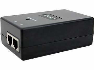 PS0081-1-UK 48vDC 24W PoE Gigabit Power Supply Injector for UK by Aurora Multimedia