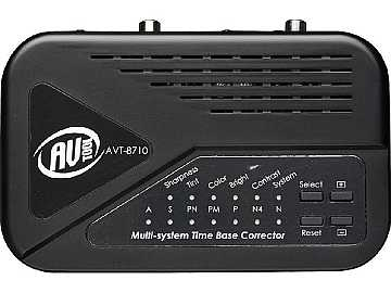 AVT-8710 Multi Standard Time Base Corrector by AV-Tool
