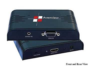 C-VGA-HDM VGA Scaler Converter to HDMI by Avenview