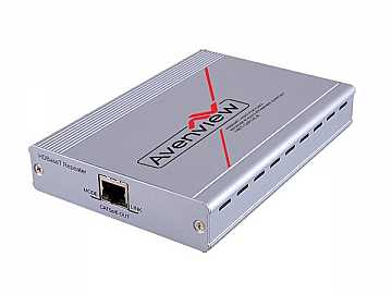 HBT-C6POE-EX HDBaseT HDMI CAT5/6/7 Repeater POE/RS-232/IR 100m/330ft by Avenview