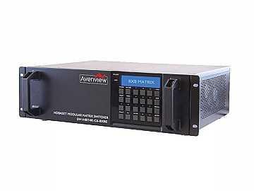 SW-HBT4K-C6-8X8E 8X8 4K HDMI HDBaseT Matrix Switcher w 3D/Ethernet/POE by Avenview