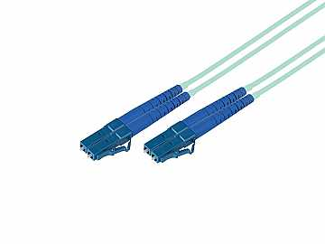 FO-MMD-LC-LC-15 49ft LC to LC OM3 10Gb 50/125 Duplex fiber optic cable by Avenview