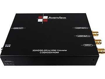 C-3GHDSDI-HDM 3G/HD/SD-SDI to HDMI Converter by Avenview