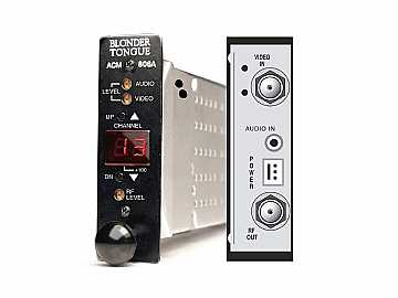 ACM-806A Modular Agile Audio/Video Modulator (HE 12 Series) by Blonder Tongue