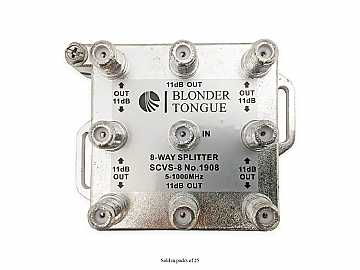 SCVS-8 8-Way Solder Back/5-1000 MHz/L Style RF Splitter (25 Pieces) by Blonder Tongue