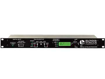 DAP Plus Digital to Analog Processor/Broadcaster AFD Software by Blonder Tongue