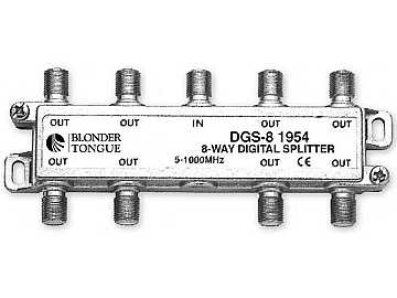 DGS-8 Digital Ready Splitter 8 Way - Balanced Split by Blonder Tongue