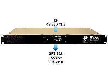 FIBT-10-1550-SA Fiber Optic RF Transmitter Single mode/DFB laser by Blonder Tongue