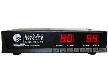 HAVM-2UA Pro 2 Channels Agile Modulator 30 dBmV 470-806 MHz by Blonder Tongue