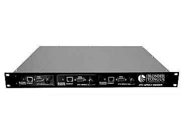 IPME-CH MPEG-2 Format over a LAN/WAN IP Encoder by Blonder Tongue
