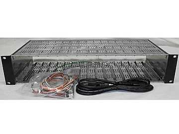 MIRC-12V HE-12 Series Vented Rack Chassis by Blonder Tongue