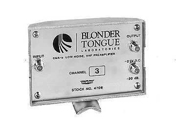 CMA-UC Preamplifier by Blonder Tongue