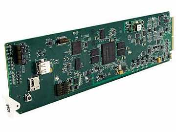 9501-DCDA-HD Down-Converter/DA Card with HD/SD-SDI I/O (Reclocking) by Cobalt Digital
