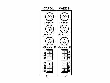 RM20-9345-B/S 20-slot Frame Rear I/O Module (Split) Balanced AA by Cobalt Digital