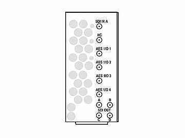 RM20-9931-B-HV-HDBNC 20-slot Frame R I/O Mod (St W/Hi-Vent) 3G/HD/SD-SDI by Cobalt Digital