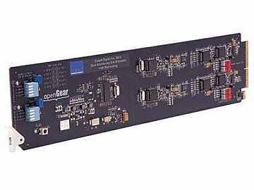 9015 Dual Monitoring Converter SDI to Analog Composite with Reclocked SDI by Cobalt Digital