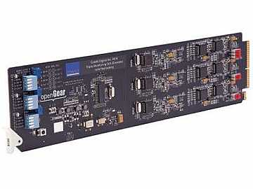 9016 SDI to Analog Composite Triple Monitor Converter Card w Reclock SDI by Cobalt Digital