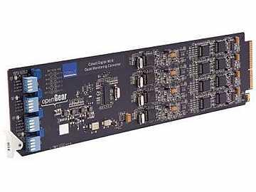 9018 Quad Monitoring Converter SDI to Analog Composite by Cobalt Digital
