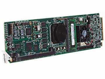 9374-EM 3G/HD/SD-SDI (Q Ch) Embedder Card w 8 AES/1 MADI Input by Cobalt Digital