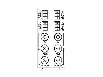 RM20-9901-XB 20-slot Frame Rear I/O Module (Stand Wdth) Component by Cobalt Digital