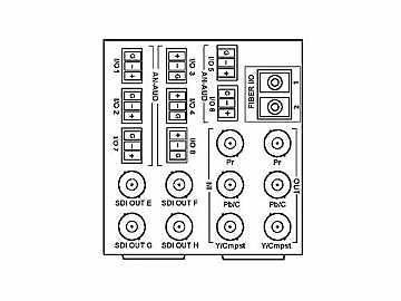 RM20-9931-XE 20-slot Frame R I/O Mod (D Wdth) Component/AA (w  Base RM) by Cobalt Digital