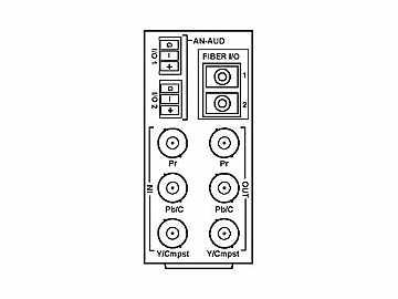 RM20-9931-XF 20-slot Frame Rear I/O Module (St W) Component (w  Base RM) by Cobalt Digital