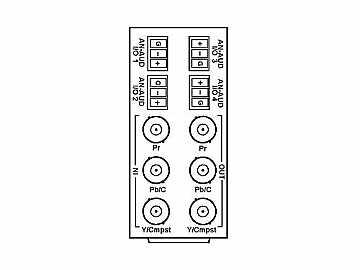 RM20-9985-XB 20-slot Frame Rear I/O Module (St W) Component (w  Base RM) by Cobalt Digital