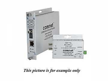 CNFE1002S1A-A 1fiber SM ST Aigis In Dome 100Mbps Media Converter/A Unit by Comnet