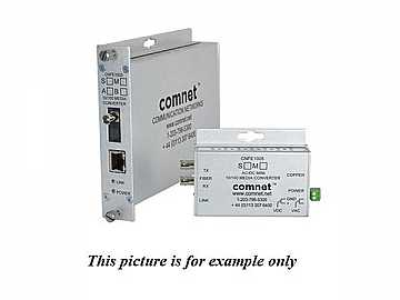 CNFE1002SAC1B-M 1fiber SM ST Connector Small 100Mbps Media Converter/B Unit by Comnet