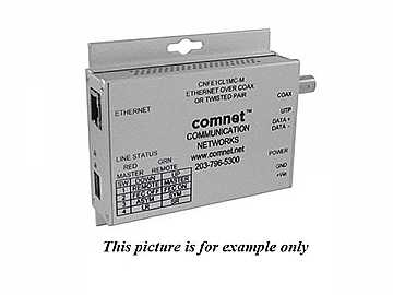 CNFE1CL1MC 10/100Mbps Media Converter Ethernet to Copper or COAX by Comnet