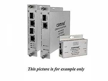 CNFE2MC2C 100Mbps Ethernet Media Converter with 2 Contact Closures by Comnet