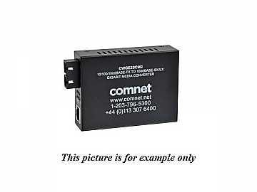 CWGE2SCM2 Commercial Grade 1000Mbps Media Converter SCmm 2FPS Included by Comnet