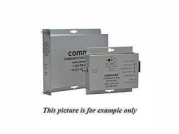 FDC10M1B MM 1Fiber Bi directional Contact Closure Transceiver by Comnet