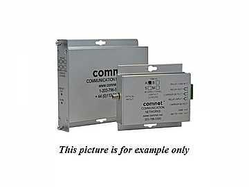 FDC10S1B SM 1Fiber Bi-directional Contact Closure Transceiver by Comnet