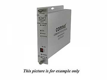 FDX70EAM1 1Fiber MM Universal Data Point To Point A End Extender (Transceiver) by Comnet