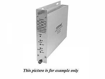 FRA2C1S1 SM 1Fiber Simplex Audio Contact Closure Extender (Receiver) by Comnet