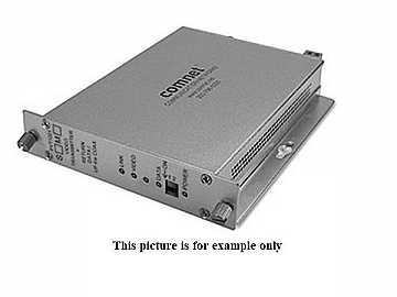 FVR1021M1 10 Bit MM 1 Fiber Digitally Encoded Video Extender (Receiver)/Data Transmitter by Comnet