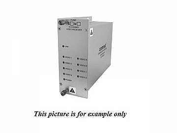FVR81M1 MM 1fiber 8 Channel Digitally Encoded Video Extender (Receiver) by Comnet