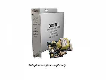 FVRDT10M1 1fiber MM Video Extender (Receiver) with Return Data Full Size Rack by Comnet