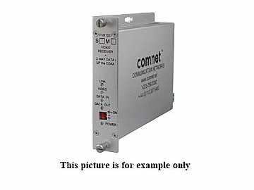 FVT1031S1 SM 1 Fiber Digitally Encoded Video Extender (Transmitter/Data Transceiver) with Coax by Comnet